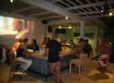 Mainski. Nusa Lembongan Hotel. Bali - Sunset Beach Bar Games Area.